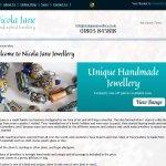 Nicola Jane Jewellery E-Commerce Website