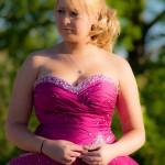 nicole prom dress