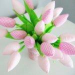Organic cotton tulips