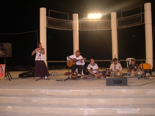 out door Stage concert larnaca , Cyprus