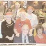 Paignton Branch - Christmas Party 2009