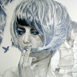 Part of Nicotine Drawing