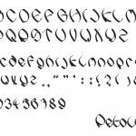 Petallic Typeface