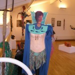 Peter Stride.....Wearable Art costume.  At Ariel Centre Gallery.