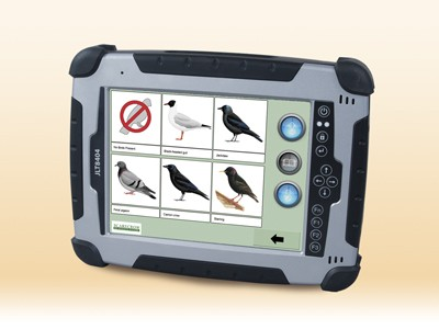 Photography - 'Ultima' tablet driven bird dispersal unit
