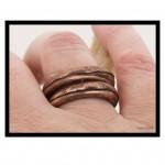 Reclaimed copper rings