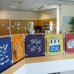 Recyled materials made into art panels
