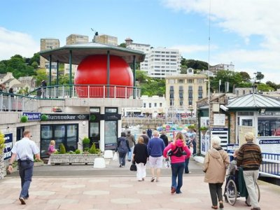 RedBall In Torquay Habour June 2012