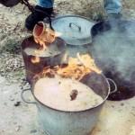 Reducing in sawdust