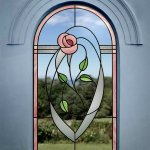 Rennie Mackintosh arched window