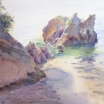 'Rocky Coastline, Torquay'
