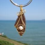 Sea Glass Pendant 004  Sold