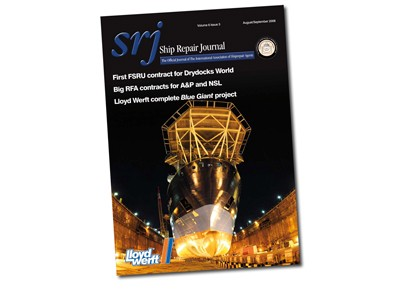 Ship Repair Journal monthly magazine production