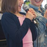 Singers at JJ's Arts Academy's Annual Gig 2015