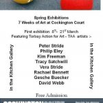 Spring exhibition at Cockington Court