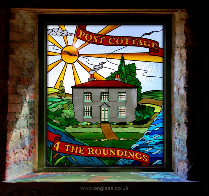 Stained glass bespoke design.