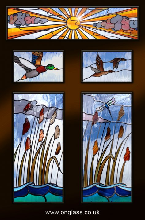 #Stained glass window design