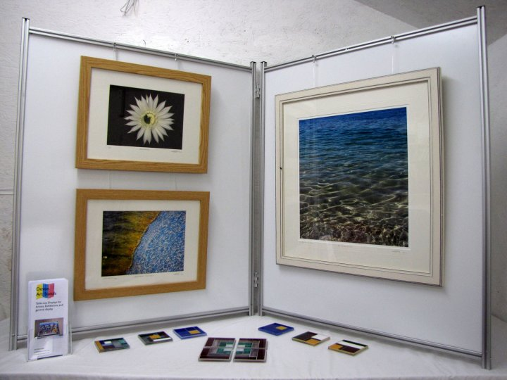 Art Exhibition Stand Hire : Creative torbay directory devon art stands portable