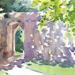 'Sunlit Arch'