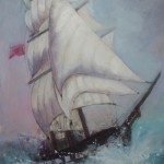 Tall Ship I by Jim Doran