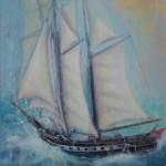 Tall Ship II by Jim Doran