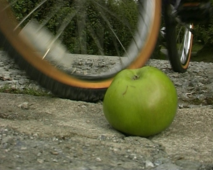 The Boy, the Bike, and the Apple