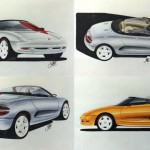 The design for the MGF Sportscar - Feb 1991
