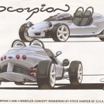 The design of the Grinnall Scorpion Sportscar Range