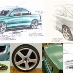 The design of the VOLVO S60'R'