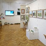 The Gallery with work by HANDS artists