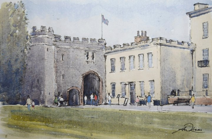 """ The Gatehouse "", Torre Abbey, Torquay"