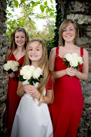 Three Brides Maids/Wedding