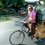 Travel. Yogyakarta, The Batavus Bike.
