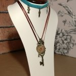 Turquiose & Brown Choker/Necklace