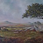 Up on the Moors   SOLD