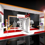 Vatech Exhibition Stand