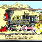 Vernon Atkinson Railroad Cartoon