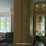 Victorian glass windows for the modern house.