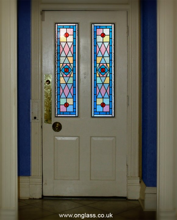 Victorian stained glass for the modern home