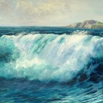 Wave on Beach by Kevin Wright