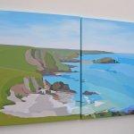 Westcombe and Burgh Island