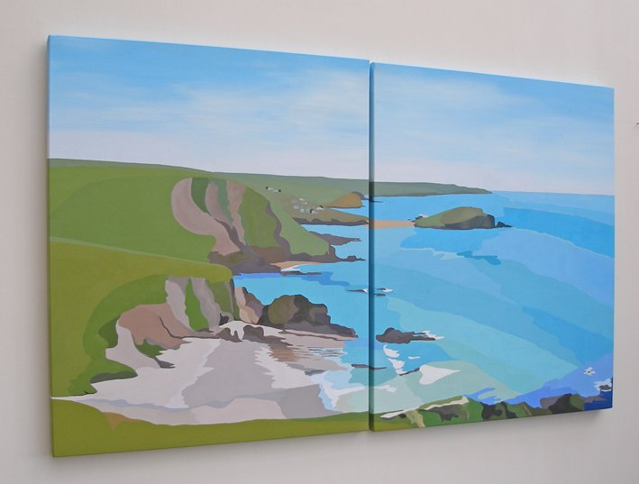 Westcombe and Burgh Island