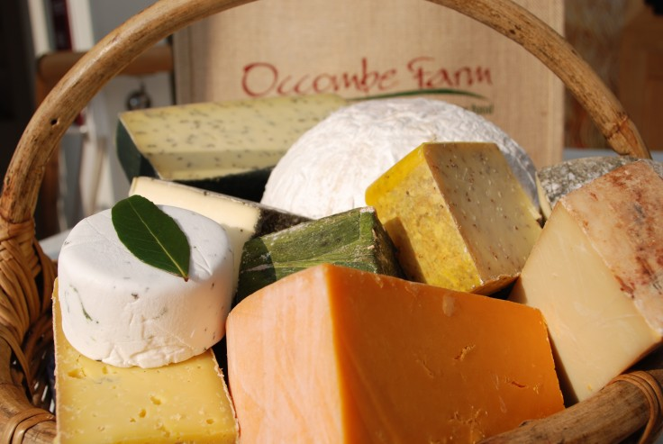 Westcountry cheeses from our Deli counter
