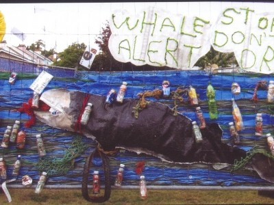 Whale Alert, Stop Don't Drop Litter