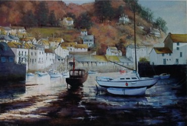 Winter Sun, Polperro