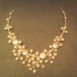 wirework bridal necklace