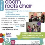 Acorn Choir Returns!