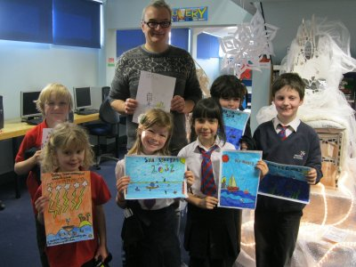 Award Winning Author Judges Children's Festival by its' Cover