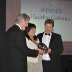 Haddon Galleries, Torquay, wins Art Retailer of the year 2013
