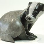 New Badger Bronze sculpture.